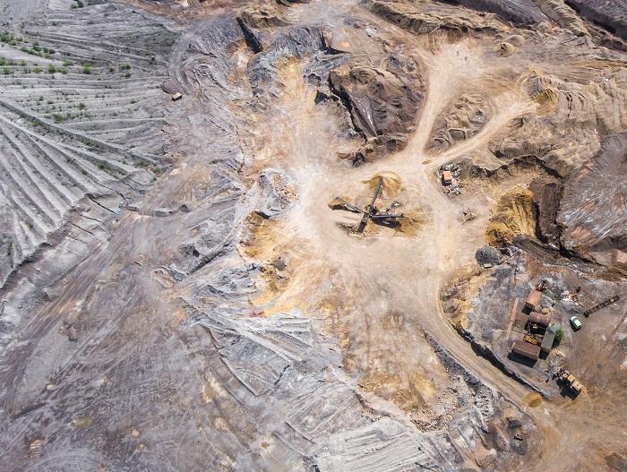 Extraction de minéraux