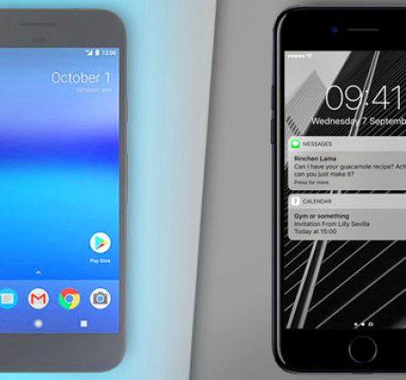 iPhone 7 vs Google Pixel : qui est le gagnant ?