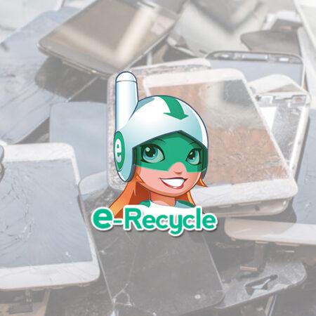 Infographie sur le réemploi et le recyclage des téléphones portables