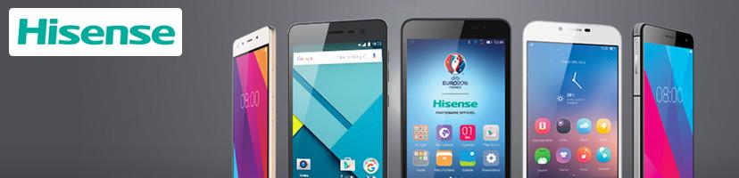 Nos téléphones et smartphones Hisense