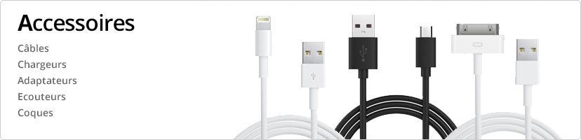 Câbles et chargeurs USB