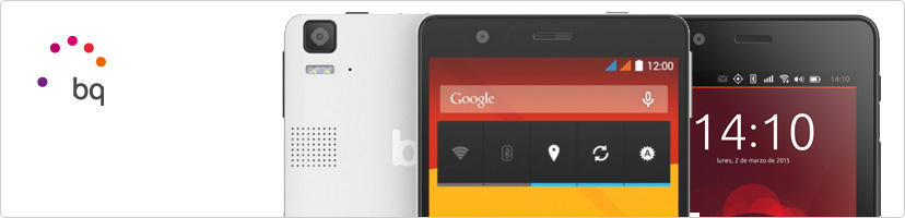Smartphones et tablettes BQ