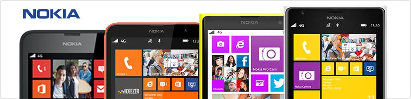 Nokia lumia reconditionnés