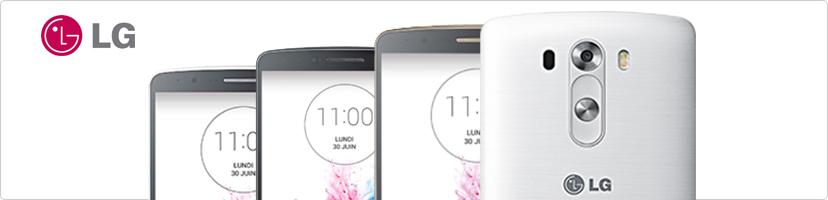Smartphones LG d'occasion