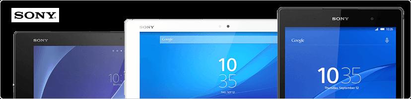 Tablettes Xperia de Sony