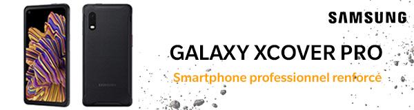 Xcover Pro reconditionné et dédié aux professionnels