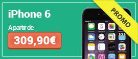Soldes sur les iPhone 6