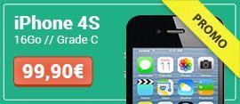 iPhone 4S en promotion